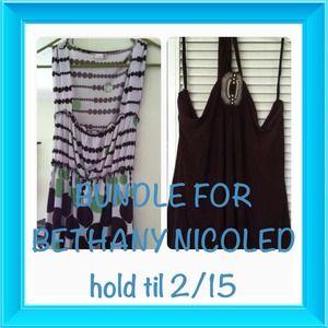 HOLD TIL 2/15...BUNDLE FOR BETHANYNICOLED