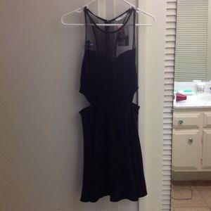BNWT lush black dress