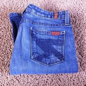 7FAM boot cut denim