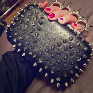 LF Stores Clutches & Wallets - ⚡️⚡️Spike clutch ⚡️⚡️