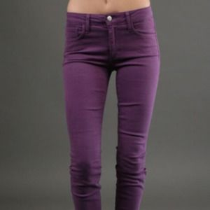 Joe's Purple Skinny Jeans!