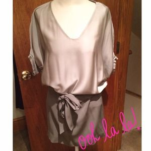 !Host Pick! Silk Combo DVF Dress