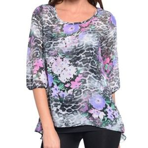 The Ashley top - floral lightweight top