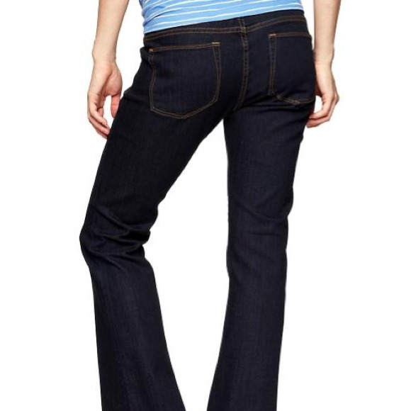 66% off GAP Denim - GAP Sexy Boot Cut Full Panel Maternity Jeans ...