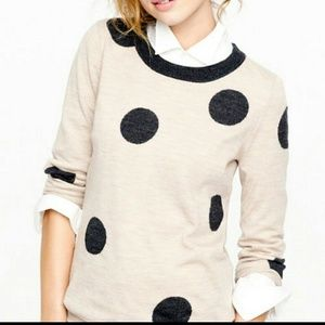 J. Crew Sweaters - Tippi Sweater in Polka Dot