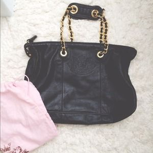 Juicy Couture Leather Large Lena Tote