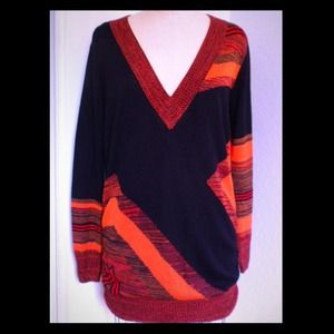 EUC Gwen Stefani L.A.M.B. sweater tunic dress sz S