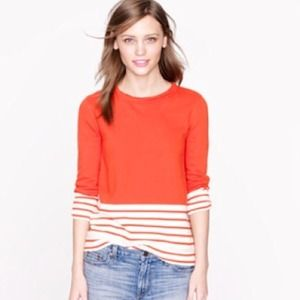 JCrew Fleece Nautical Popover