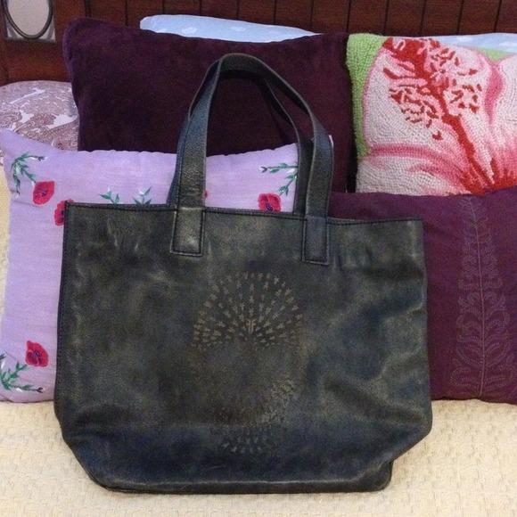 11d8841dcf21 Frye Handbags - Black Frye skull tote (more like charcoal gray)