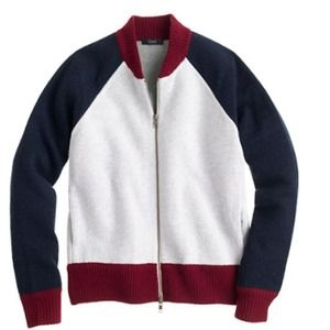 Amazing J.Crew Varsity Sweater Jacket💖