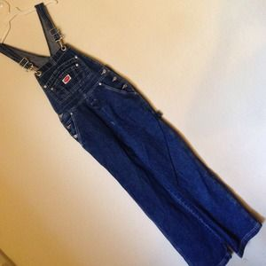 Revolt Jeans - Vintage overalls.  Has a high waisted look.