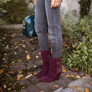 Shoemint wedge boots