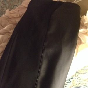 kenar Dresses & Skirts - Black faux leather pencil skirt!!