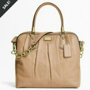 Authentic Coach kristin Leather Satchel Bag