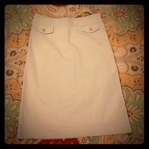 BannanaRepublic Vintage LightBlue Skirt. Sz 2 23in