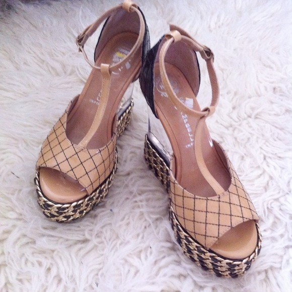 Jeffrey Campbell Shoes - {sale} jc lucite wedges 2
