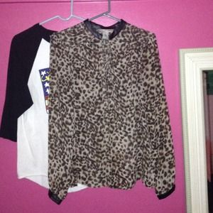 Tops - Cheetah shirt