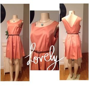 🎉HP 2/22🎉⭐️Gorgeous Coral Dress Forever 21⭐️