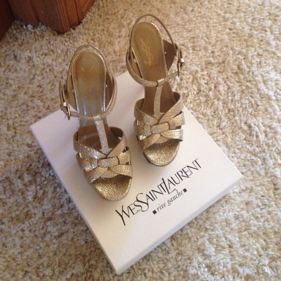 Yves Saint Laurent Shoes - YSL tribute stilettos