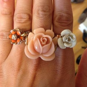 Accessories - Flower power rings