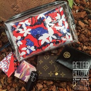 HOST PICK Peter Pilotto Clear Pouch/Clutch
