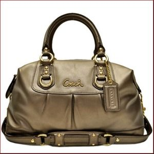 Coach Ashley Leather Satchel