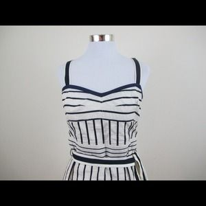Tory Burch Sweetheart sailor dress