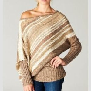 Amazing off the shoulder sweater