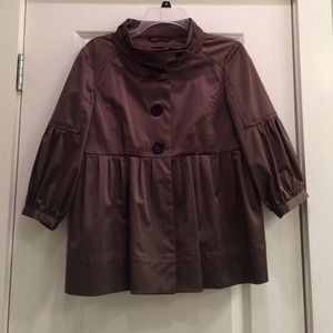 Brown Zara Swing Jacket