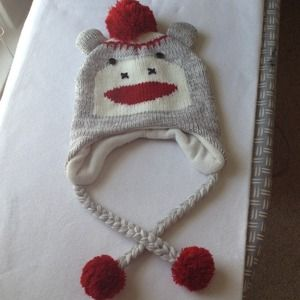 Adorable Sock Monkey Hat