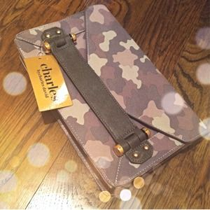 Charles by Charles David Clutches & Wallets - Charles By Charles David Camo Clutch!