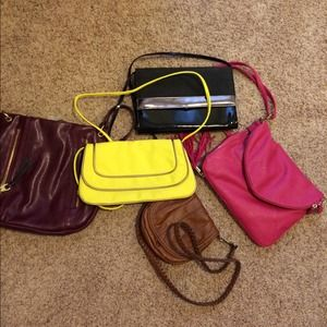 Clutches & Wallets - Lot of cross body bags