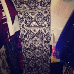 Dresses & Skirts - Maxi skirt, jewelry holder,follow your dreams