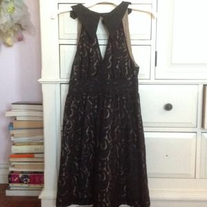 Anna Sui for Target black lace dress