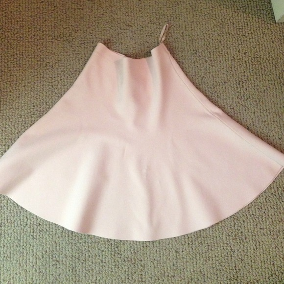 68% off BCBGMaxAzria Dresses & Skirts - Bcbg light pink a-line ...