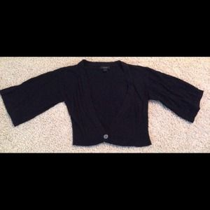 Express Black Kimono Cardigan Sweater Small