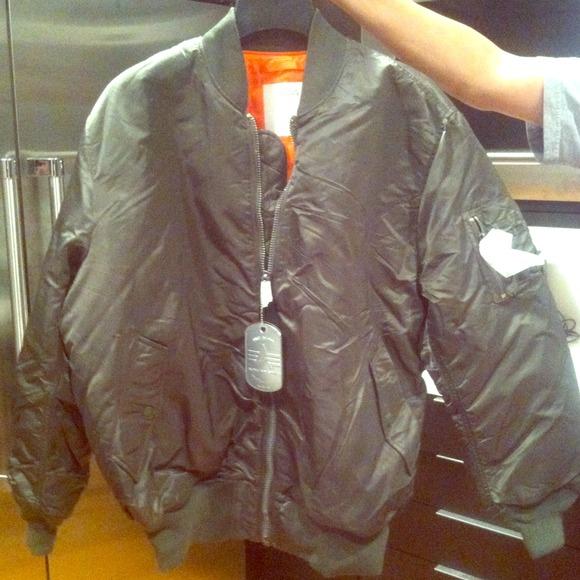 znana marka Wielka wyprzedaż super jakość Kanye west Yeezus bomber jacket NWT