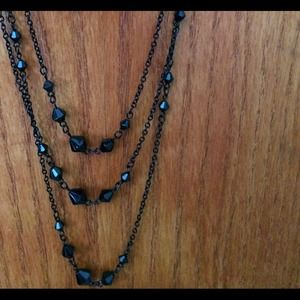 Jewelry - Long black necklace