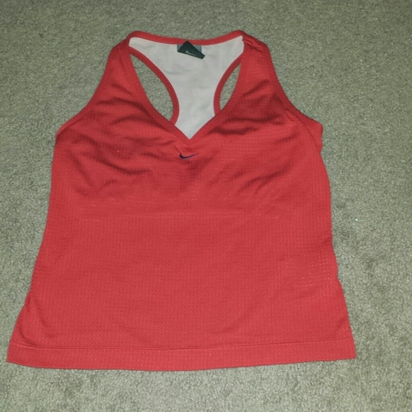 56 off nike tops nike work out tank with built in for Shirts with built in sports bra