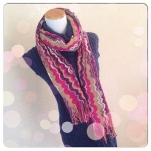 Missoni Accessories - ❄️MISSONI Chevron Scarf NWOT