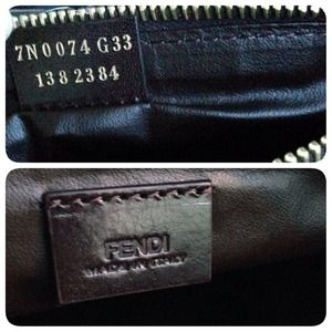4f3b86397b FENDI Bags - Fendi Cosmetic Bag Pouch - Large