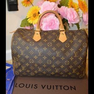 Hold Authentic Louis vuitton Speedy 35 pre own
