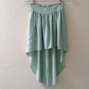 LF Dresses & Skirts - 🎉SALE🎉 LF MINT HI-LO SKIRT