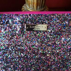 kate spade Bags - 💝Kate Spade Glitterball Little Gia 3