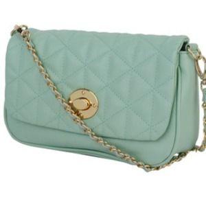 Host PickMintQuilted crossbody bag