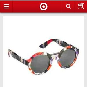 Peter Pilotto for Target - Red Iris print sunnies