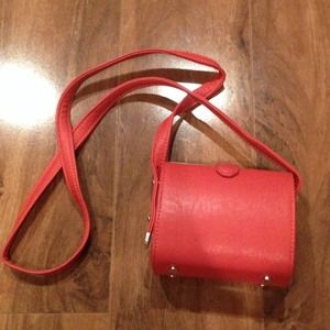 Zara Handbags - Zara crossbody, Red