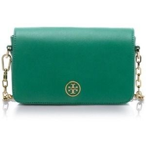 Tory Burch Robinson Crossbody Bag Greeb