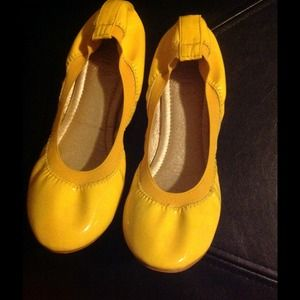 Shoes - Cute bright yellow shoes.
