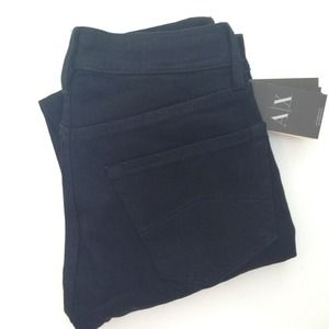 Armani Exchange Black Skinny Jeans